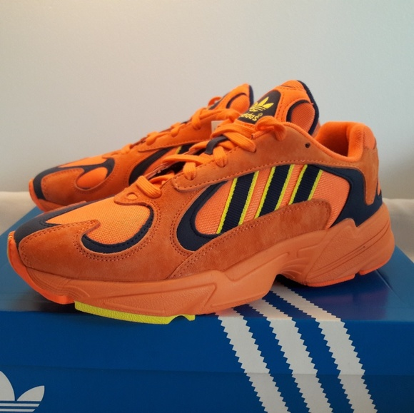 los angeles united kingdom cheapest adidas Originals Yung-1 Hi-Res Orange